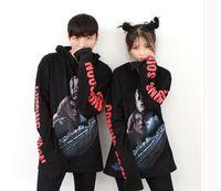 best titanic - women Vete best quality men couple hoodie SIDE COMMING SOON letter print love Titanic D sweatshirt Harajuku punk Tracksuit