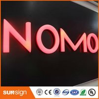 Wholesale waterproof store front sign type led sign letters