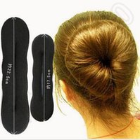 Magic Hair Clip Esponja espuma Bun Maker clip anterior espuma Twist Styling accesorio Hair Bun Maker Twist Herramienta banda de pelo CCA5531 5000pcs