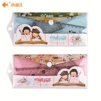 Wholesale 1set stationery student cartoon set ruler cute personality creative idea ruler