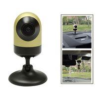 dash lights - coolACC Gravity Sensor Driving Logger Yellow Dash Camera with Night Recorder iCam5 Super Capacitor Car DVR Dash Cam Good Quality Recorder