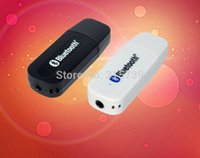 Wholesale 20pcs mm Stereo USB Bluetooth Audio Receiver Adapter for PC Speaker Mobile Phone