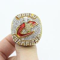 2017 regalos conmemorativos al por mayor 2016 del anillo del campeonato de LeBron James Cleveland de la alta calidad (más de 20pcs DHL liberan el envío)