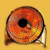 Wholesale DHL electric mini Heaters Students office Home Desktop heater Mini quartz tube type small solar heater stove electric fan