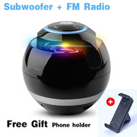 Wholesale Bluetooth Mini Speaker Receiver Boombox FM Radio Portable Caixa De Som Amplifier MP3 Subwoofer with Mic Car Loudspeaker