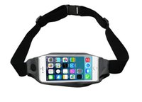 amazon mobile iphone - 2016 Amazon hot sale mobile phones lycra soft sports running waist bag for iphone6 S plus