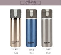 auto thermos - Top Quality Stainless Steel Travel Cup Car Heated Mug Auto Heater DC V Thermos Mug Car Styling EASY WAY