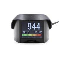 Wholesale AUTOOL Multi Function Car OBD Smart Digital meter Alarm Fault code Water temperature gauge digital voltage speed meter display