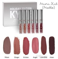 best holiday wines - 2017 New Hot Sell kylie holiday edition mini kit KYLIE lipgloss Jenner Matte Liquid Lipstick Lasting best gift