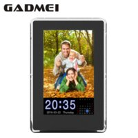 Wholesale New Fashion inch Vertical HD Digital Photo Frame with Clock amp Calendar function MP3 Light Sensor Gift Free Shipment
