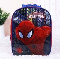 Wholesale hot selling spider man kids pvc Backpack boy s girl s princess school bag student s mini Cartoon backpack