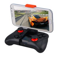 Wholesale Wireless Gamepad Bluetooth Game Controller Joystick for Iphone and Android Phone Tablet PC Laptop