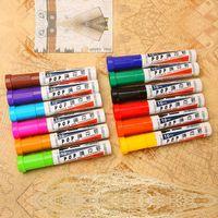 Wholesale 10pcs set jumbo marker Bao gram POP markers pen width mm marker hand color oily mark poster whiteboard marker pen