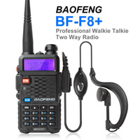 Wholesale LCD Display BF F8 Porable BAOFENG Walkie Talkie Ham Radio with Emergency Alarm Scanning VOX Monitor TOT Function SEC_034