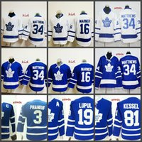 58a8c759f Youth Womens Toronto Maple Leafs Blue White Kid Jersey 34 Auston Matthews 16  Mitchell Marner 3 Dion Phaneuf 19 Joffrey Lupul 81 Phil Kessel ...