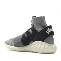 Half Boots Snow Boots Unisex Tubular Doom Primeknit Sneakers Running Shoes KITH Ronnie Fieg Black White Men's Sports Shoes Breathable Sport Shoes Running Y3 shoe Si