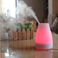 Wholesale 120ml Essential Oil Diffuser Portable Aroma Humidifier Diffuser LED Night Light Ultrasonic Cool Mist Fresh Air Spa Aromatherapy Free DHL