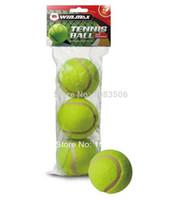 Wholesale Free Shjpping bag International Tennis Ball Federation approved training Tennis Ball Training Ball Chemical fiber