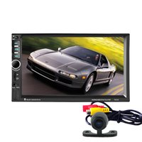 audio consoles - Universal Din Car DVD Double Din Car Video Player Touch Screen Car Audio Player Support Bleutooth MP5 FM Radio Rearview USB Aux