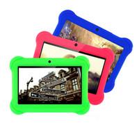 Precio de Tablet 9 inch-Tableta popular de 7 pulgadas para los niños Niños Juego de Regalo Apps Android 4.4 1GB RAM 16GB ROM WiFi Quad Núcleo tableta pc 7 8 9 10 10.1