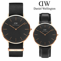 Wholesale New Mens Daniel watches mm Men watches Women Watches Luxury Brand Famous Quartz Watch Female Clock Relogio Montre Femme