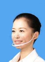 Wholesale High quality Health and Beauty Transparent masks for restaurant industry and beauty industry