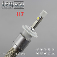 acura auto sales - 1 Set Hot Sale NEW H7 W lm CREE Auto LED Headlight System R3 XHP LED CHIPS V White K Driving Fog Replace Stock Halogen Bulb