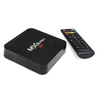 Wholesale 1G G MXQ S905 Pro Android TV BoxDigital TV Streaming Box Quad Core Android Full Loaded Android Lollipop OS