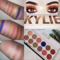 Wholesale HOT kylie The Royal Peach eyeshadow Palette KYLIE colors kyshadow eyeshadow palette Kylie Jenner Cosmetics eyeshadow Palette freeshipping