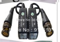Wholesale DHL New arrival pair Passive Video Balun UTP Transivers connector for cctv balun video