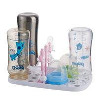 baby food rack - HOT Sale Baby Bottle Drying Rack High Quality cm Cabide White Escurre Biberones PP Seche Biberon Baby Feeding Holder