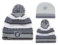best gentleman - Raiders Beanies Team Hat football Oakland Winter Cap Popular Beanie women men Caps Skull Caps Best Quality Sports Caps