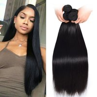 Wholesale 3 Brazilian Straight Human Hair Weave Bundles Cheap Unprocessed Hair Extensions Allybeauty Brazilian Hair Body Wave Short Bob Style