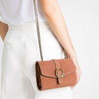 Wholesale new style buckle leather lady bag