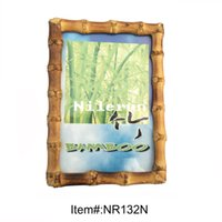 Wholesale creative bamboo root picture frame for x6 quot inch