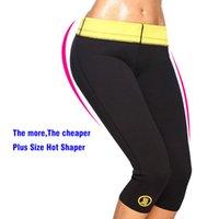 Wholesale Hot black Women Stretch Slimming Pants body shaper hot shapers body plus size waist trainer women neoprene