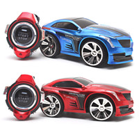 batteries brake - Cool Mini RC Car G CH Voice Command Go Forward Back Brake Light On Off Watch Remote Control Car Boys Birthday Xmas Gift K5BO