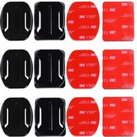 Wholesale Adhesive Mounts for Cameras x Curved x Flat Mounts Bundle W M Sticky Pads