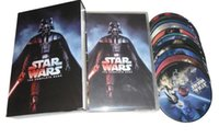 Wholesale Top quality Hot sale DVDs Star Wars the complete sage US Version Disc DHL free