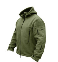 Wholesale Military Man Fleece tad Tactical Softshell Jacket Polartec Thermal Polar Hooded Coat Outerwear Army Clothes