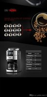 Wholesale High cost effective2016 Cafeteras American Coffee Maker Petrus Full Automatic Multifunctional American Coffee Machine Grinding Beans W