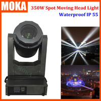 Wholesale IP Waterproof LED Super Beam Moving Head Light dmx led gobo light R W outdoor moving light for Disco Nightclub DJ Bar
