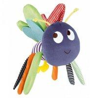 Venta al por mayor-Mariposa bebé juguetes 0-12 meses de peluche muñeca bebé traqueteo niños móvil colgante cama Bell coche Stoller Brinquedos Bebes