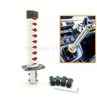 Wholesale Red White mm JDM Katana Samurai Sword Shift Knob Shifter With Adapters Fit Most Cars