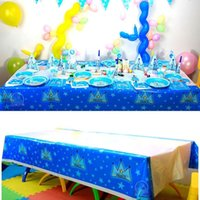 Wholesale cm disposable tablecloth Cartoon Minions Despicable Me theme kids birthday decoration party plastic tablecover supplies