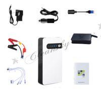 Wholesale Fedex DHL Free multifunction mAh V Portable Jump Starter Car Battery Charger Mini Power Inverter LED Light hot Z677