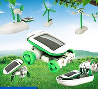 Wholesale DIY in Solar Educational Kit Toy Learning Power Solar Robot Kit Children Kids Toy Solar Toy KKA1275