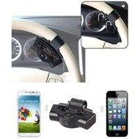 auto answer phone - Auto Steering Wheel Bluetooth Kit Car Handsfree Phone Call Answer