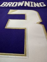 Wholesale Men Replica White purple Jake Browning Washington Huskies Alumni jersey
