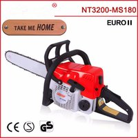 Wholesale MS180 gasoline chainsaw with inch alloy bar sti saw chain made in china